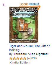 Tiger and Mouse children's ebook